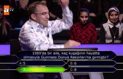 Kim Milyoner Olmak İster'e Gaziantepli Okocha Mehmet Akar damgası!
