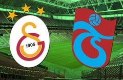 Galatasaray Trabzonspor'u ağırlıyor kritik maç öncesi son gelişmeler