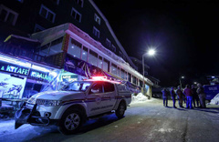 Uludağ'da silahlı kavga: 1 ölü, 3 yaralı
