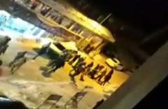 Uludağ'da iki grup arasında silahlı kavganın kamera görüntüleri