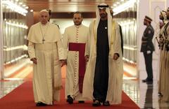 Arap Yarımadası'nda bir ilk Papa ziyaret etti