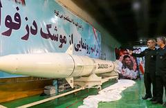 İran yeraltı fabrikasında 1000 km menzilli Dezful füzesini tanıttı