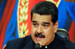 Maduro: ABD gözlerini Venezuela'nın zenginliklerine dikmiş