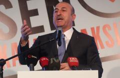 Çavuşoğlu: O ittifakın içinde sırtını Kandil'e dayayan bir parti var