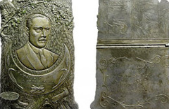 89 yıllık madalyon antikacıda çıktı