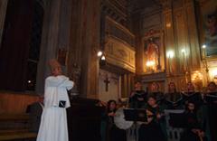 Katolik Kilisesi'nde Şeb-i Arus konseri