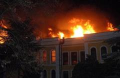 İşte üniversitedeki yangının nedeni