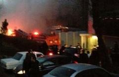 Yenişafak'ta korkutan yangın
