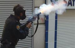 Gaz bombası için skandal savunma