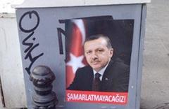 Erdoğan afişlerini kim astırdı?