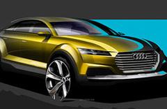 Audi Q4 konseptin çizimleri yayınlandı