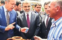 Erdoğan ile simitçi arasında ilginç diyalog