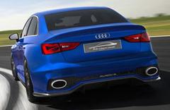Audi'den 525HP'lik A3 konsept!
