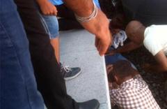 İzmir'de tren raylarında inanılmaz kaza