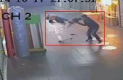 Kapkaçcı dehşeti güvenlik kamerasında