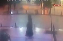 Sultanahmet'teki saldırı kamerada!