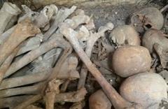 Kütahya'daki toplu mezar bulundu