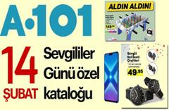 A101 aktüel 14 Şubat öne çıkan ve indirimli ürünler kataloğu