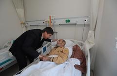 Başkan Türel'den Kore Gazisine ziyaret
