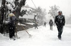 Bursa için saatlik hava durumu fena kar başladı!