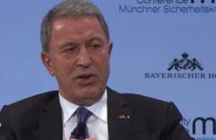 Bakan Akar, Münih Güvenlik Konferansı'nda konuştu