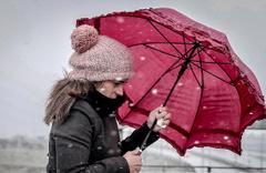 Meteorolojiden o bölgeler için kar uyarısı