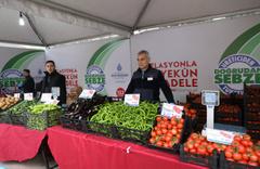 Tanzimde ilk haftada 2 bin ton sebze satıldı