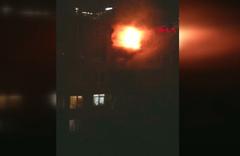 İstanbul Şişli'de 4 katlı binada yangın