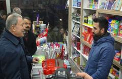 Bakan Akar ve Genelkurmay Başkanı Güler Yüksekova'da