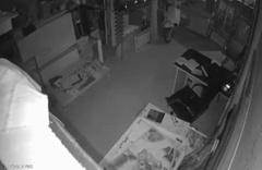 Çanakkale'deki deprem anı güvenlik kamerasında