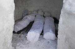 Kars'ta komandoların İglo evlerinden inanılmaz görüntü