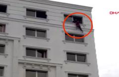 İntihara kalkışan kadını polis son anda yakaladı