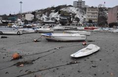 Tekirdağ'da deniz 30 metre çekildi halkı korkutan manzara