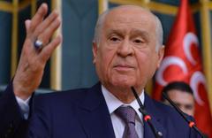 MHP lideri Devlet Bahçeli'den erken seçim çıkışı