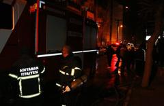 Adıyaman'da evde çıkan yangın paniğe neden oldu