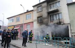 Eskişehir'de koltuk döşeme atölyesinde patlama!
