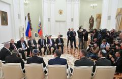 Putin, Netanyahu'yu kabul etti