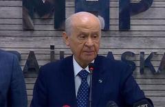 Bahçeli: Ankara dün zillete teslim olmadı, yine olmayacaktır