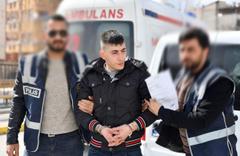 Gaziantep'te hırsız çalmamaya 5 saat dayanabildi