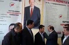 Derecik ilçesi CHP adayı Suat Yüksel istifa ederek AK Parti'ye geçti
