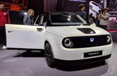 'Honda e Prototype' adlı elektrikli arabası tanıtıldı
