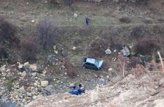 Bolu'da kayıp 2 kişinin cansız bedeni 500 metrelik uçurumda bulundu