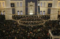 Regaib Kandili'nde Çamlıca Camisi'ne yoğun ilgi