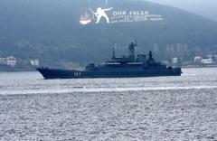 Rus savaş gemisi, Çanakkale'de Türk savaş gemisiyle karşılaştı