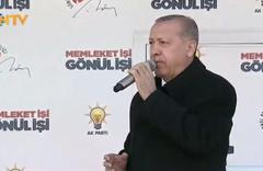 Erdoğan Diyarbakır'da konuştu: Parayı Kandil'e gönderirler!
