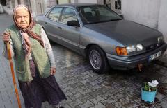 Adana'da film gibi olay: Süper babaanne!