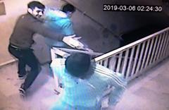 Hırsızların rahatlığı izleyene pes dedirtti