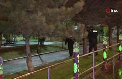 Ankara'da dur ihtarına uymayan şüpheliler bekçilere ateş açtı