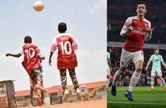 Mesut Özil'den gönülleri fetheden hareket