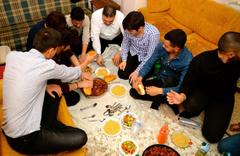Rektör Şafak Ertan Çomaklı'dan öğrenci evine sürpriz siyaret